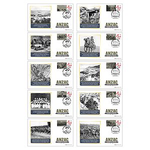 2016 Anzac Commemorative Sheet BSSP SET