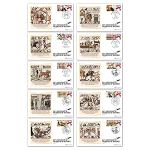 2016 Battle of Hastings Comm Sheet BSSP Set