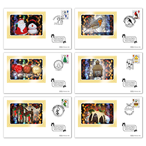 2016 Christmas Generic Sheet BSSP Set