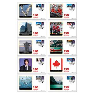 2017 Canada Commemorative Sheet BSSP Set