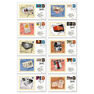2017 Postal Museum Commemorative Sheet - Benham BSSP Set of Covers