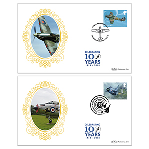 2018 RAF 100th Anniversary Retail Booklet BSSP Pair of Covers