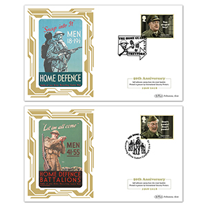 2018 Dad's Army Retail Booklet BSSP Pair of Covers