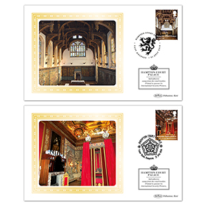 2018 Hampton Court Palace Retail Booklet BSSP Pair of Covers