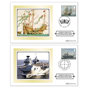 2019 Royal Navy Ships Retail Booklet BSSP Set