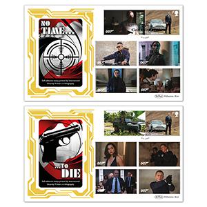 2020 James Bond Commemorative Sheet BSSP Pair