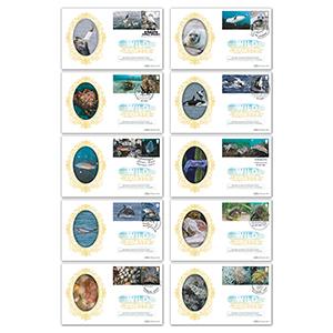 2021 Wild Coasts Collector Sheet BSSP Set