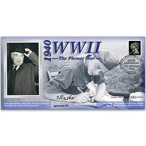 1940 The Phoney War - Signed M.R.D Foot - 60th Anniversary WWII