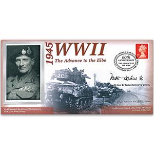 1945 Advance to the Elba - Signed Rt Hon Sir Tasker Watkins VC