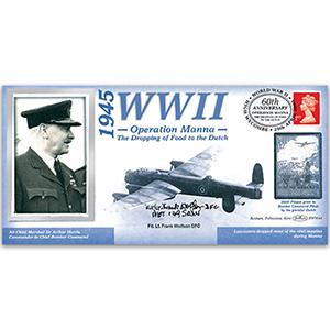 1945 Operation Manna - Signed Flt Lt Frank Wolfson