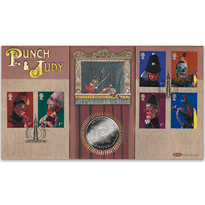 2001 Punch & Judy Coin Cover