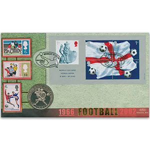 2002 World Cup M/S Coin Cover - Wembley