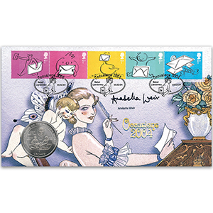 2003 Occasions Coin Cover - Signed by Arabella Weir