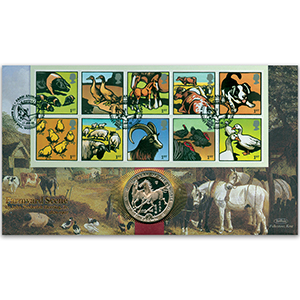 2005 Farm Animals Coin Cover