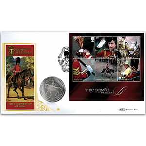 2005 Trooping the Colour M/S Coin Cover
