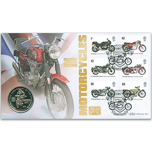 2005 Motorcycles Coin Cover - Charlie Collier