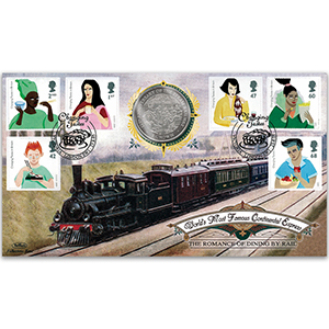 2005 Changing Tastes: Romance of Dining by Rail Coin Cover