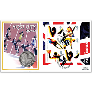 2005 London 2012 Coin Cover
