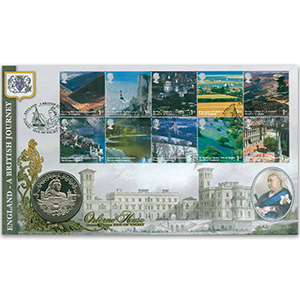 2006 British Journey: England Coin Cover