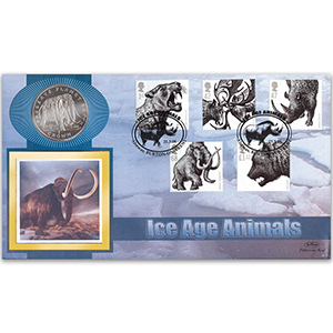 2006 Ice Age Animals Coin Cover