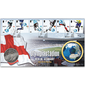 2006 Football World Cup Winners Alt Coin Cover