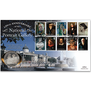 2006 National Portrait Gallery 150th Coin Cover