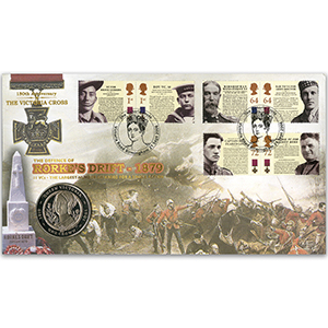 2006 Victoria Cross Stamps Coin Cover