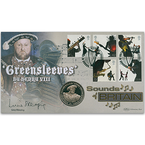 2006 Sounds of Britain Coin Cover - Signed Lucie Skeaping