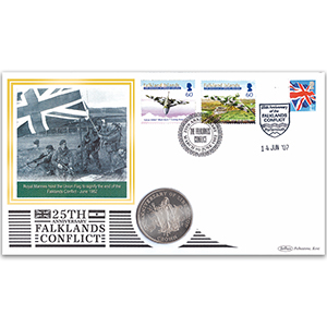 2007 Falklands Conflict Coin Cover