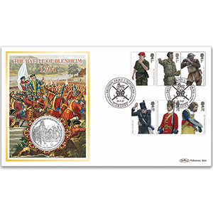 2007 British Army Uniforms Coin Cover