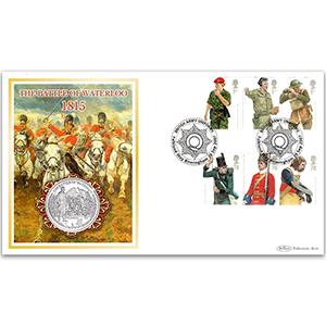 2007 British Army Uniforms Coin Cover - Falkland Way, Birmingham