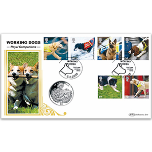 2008 Working Dogs Coin Cover