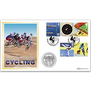 2010 Olympic & Paralympic Games II Stamps Coin Cover