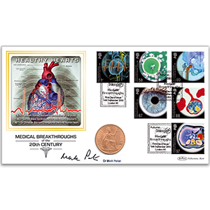 2010 Medical Breakthroughs Coin Cover - Signed by Dr. Mark Porter