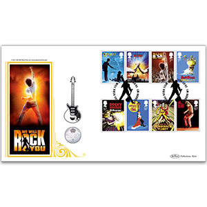 2011 Stage Musicals Coin Cover - London W1