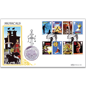 2011 Stage Musicals Coin Cover
