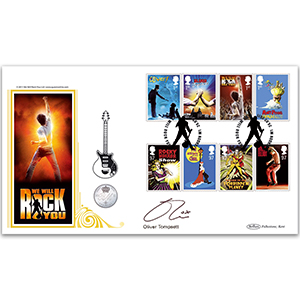 2011 Stage Musicals Coin Cover - Signed by Oliver Tompsett