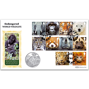 2011 WWF Stamps Coin Cover