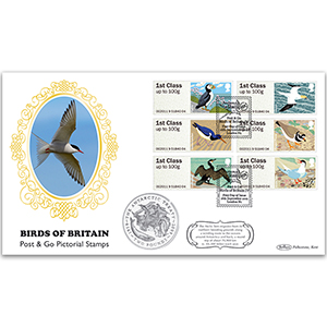 2011 Post & Go Birds of Britain No. 4 Coin Cover