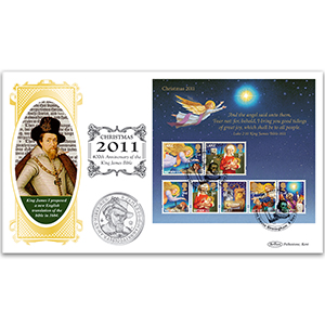 2011 Christmas M/S Coin Cover