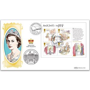 2012 Roald Dahl M/S Coin Cover