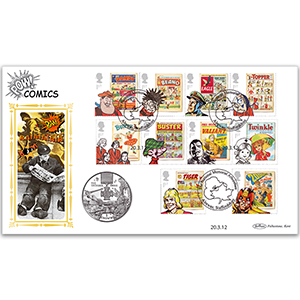 2012 Comics Coin Cover - Victoria Cross Crown Coin