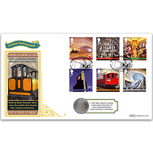 2013 150th Anniversary London Underground Coin Cover