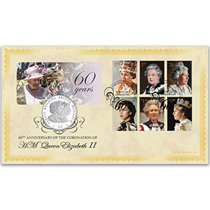 2013 60th Anniversary of the Coronation Coin Cover