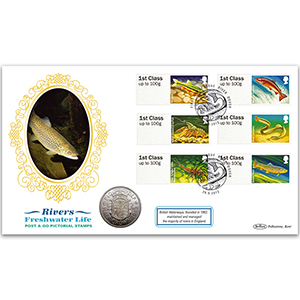2013 Post & Go Freshwater Life - Rivers Coin Cover
