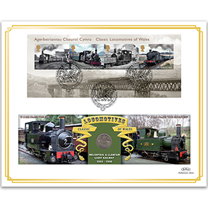 2014 Classic Locomotives of Wales M/S Coin Cover