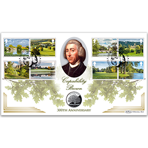 2016 Landscape Gardens Stamps Coin Cover