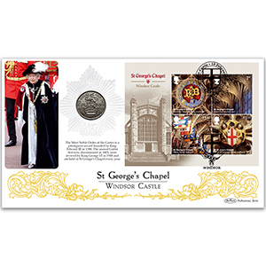 2017 Windsor Castle M/S Coin Cover