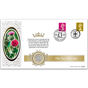 New £1 Special Coin Cover