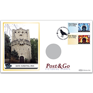 2018 Game of Thrones Post & Go Stamps Coin Cover